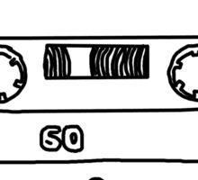 Retro Cassette Tape Sticker