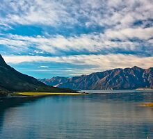 Lake Hawea South Island New Zealand  by fotosic