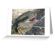 Tongue Twister Greeting Card