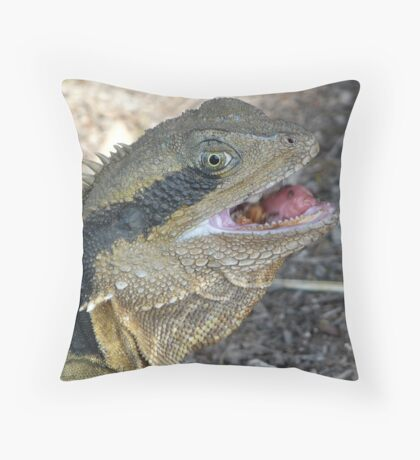 Tongue Twister Throw Pillow