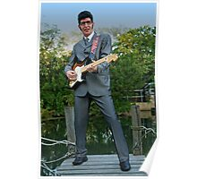 Deak as Buddy Holly Poster