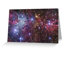 Space Pattern Greeting Card