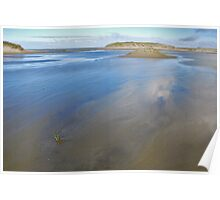 North Sea Beach 4 Poster