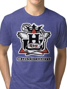 HAZE UNIVERSITY Tri-blend T-Shirt