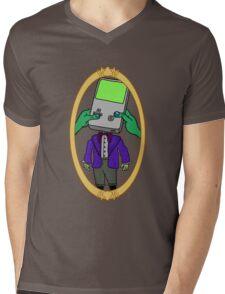 Family Portrait - Son Mens V-Neck T-Shirt