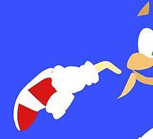 Sonic the Hedgehog by joeredbubble