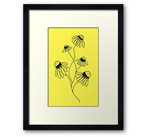 Daisies are the Happiest Flower Framed Print