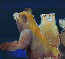 Bears by kirkygill