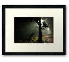 Kvällsdimma Framed Print