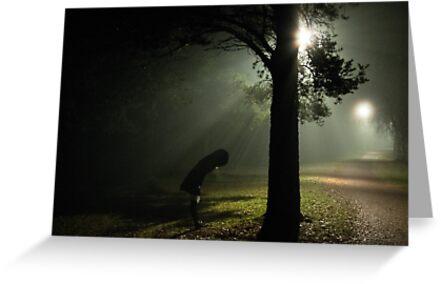 Kvällsdimma by Bjarte Edvardsen