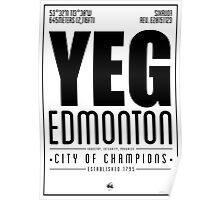 YEG - Edmonton Poster