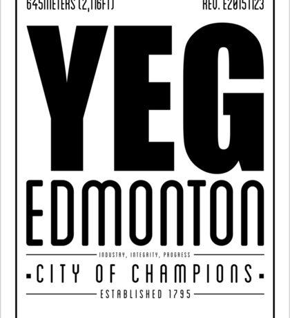YEG - Edmonton Sticker