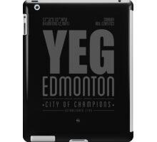 YEG - Edmonton iPad Case/Skin