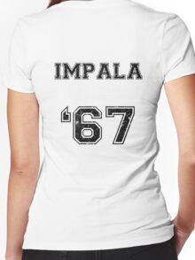 IMPALA SINCE '67 Women's Fitted V-Neck T-Shirt