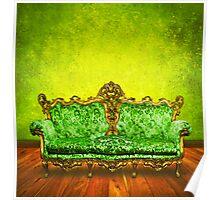 victorian sofa Poster