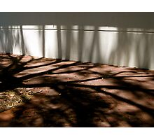 9/11 when shadows climb the walls Photographic Print