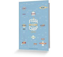 The Fish & Chip Taxonomy Greeting Card