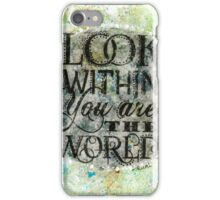 Look Within  iPhone Case/Skin