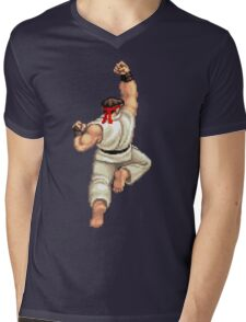 Ryu Mens V-Neck T-Shirt