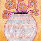 Flower Vase VIII -Beatrice Ajayi by Beatrice  Ajayi