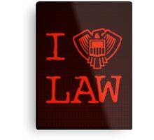 Law Lover Metal Print