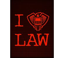 Law Lover Photographic Print
