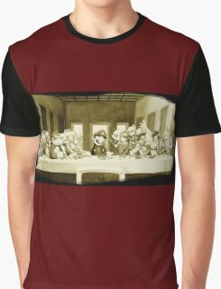 Last Supper Smash Bros Graphic T-Shirt