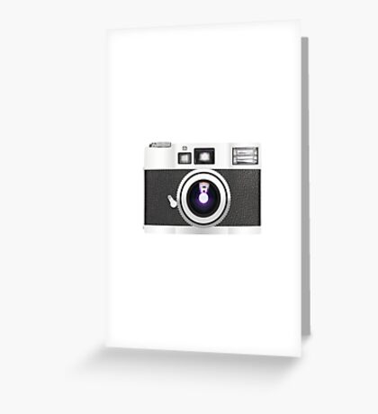 retro camera collection Greeting Card