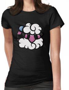 Sleepy Flaaffy Womens Fitted T-Shirt