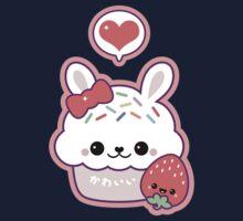 Cute Bunny Cupcake One Piece - Short Sleeve