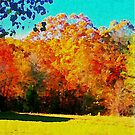 Autumn Watercolor by Lisa Taylor