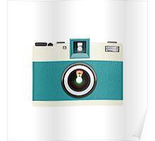 retro camera collection Poster