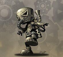 BRUYN - iPhone Case 15 Steampunk by Craig Bruyn