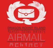 Zelda Wind Waker - Dragon Roost Island Airmail by Azafran