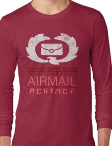 Zelda Wind Waker - Dragon Roost Island Airmail Long Sleeve T-Shirt