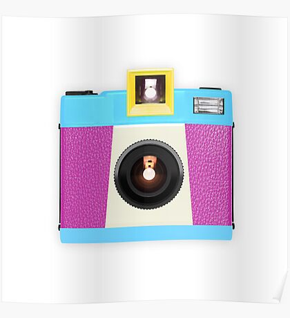 retro camera collection Poster