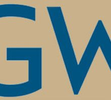 GWU Sticker
