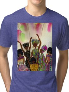 Tapestry Tri-blend T-Shirt