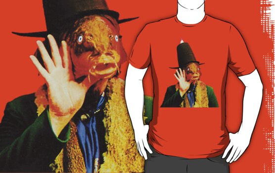 Captain Beefheart Trout Mask Replica by retrorebirth