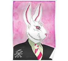 Well Dressed Bunny Poster