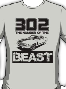 302 - The Number of the Beast T-Shirt