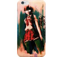 Mari Makinami Evangelion Anime Tra Digital Painting  iPhone Case/Skin