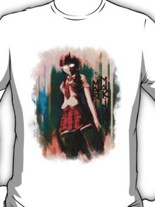 Mari Makinami Evangelion Anime Tra Digital Painting  T-Shirt
