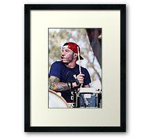 Silly Josh Dun Framed Print