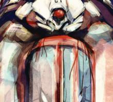 Shinji Evangelion Anime Tra Digital Painting  Sticker