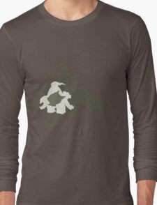PKMN Silhouette - Duskull Family Long Sleeve T-Shirt