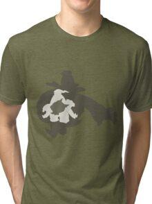 PKMN Silhouette - Duskull Family Tri-blend T-Shirt