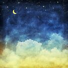 cloud and sky at night by naphotos