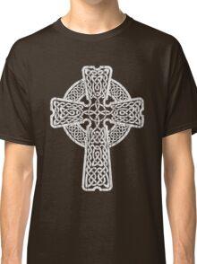 Celtic Cross in white Classic T-Shirt