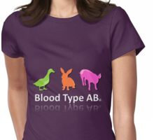 TYPE AB Womens Fitted T-Shirt